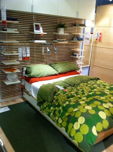 ikea mandal bed a photo on flickriver. Black Bedroom Furniture Sets. Home Design Ideas