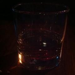 wine glass(0.0), glass bottle(0.0), whisky(0.0), stemware(0.0), liqueur(0.0), pint (us)(0.0), lighting(0.0), old fashioned glass(1.0), drinkware(1.0), distilled beverage(1.0), glass(1.0), drink(1.0), alcoholic beverage(1.0),