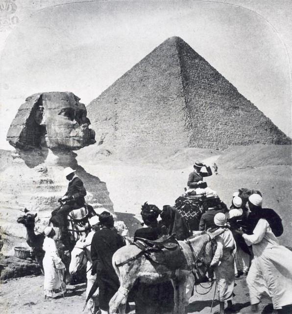 Touristen in Egypte / Tourists in Egypt