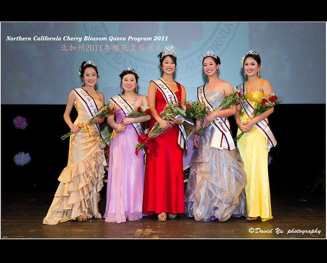 Northern California Cherry Blossom Queen Program 2011 北加州2011年櫻花皇后選美