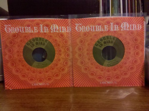 "Jeffrey Novak & Alex Cuervo - Trouble In Mind 7"" Singles"