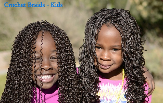 Crochet Braids - Girls Flickr - Photo Sharing!