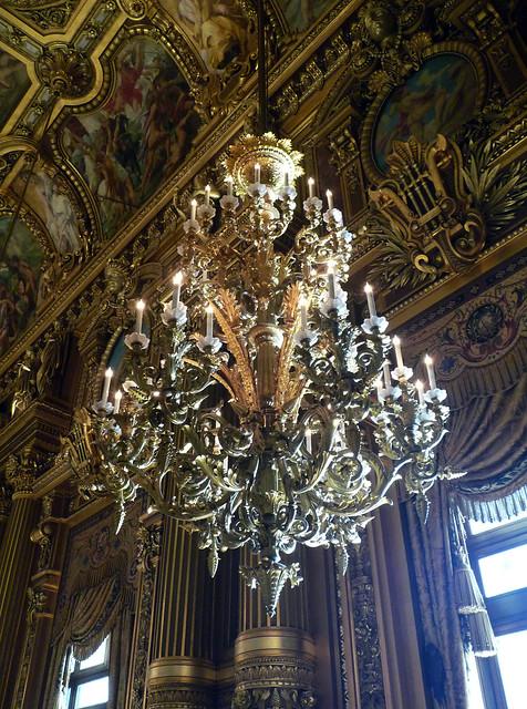 Grand Foyer Chandelier : Garnier s paris opéra grand foyer chandelier flickr