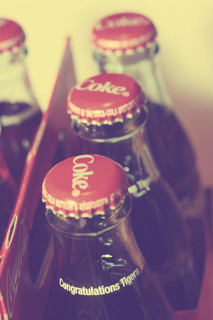 105/365.2011 {Vintage Coke Bottles}