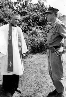 Chaplain and Major General Lewis J. Fields on Easter Sunday, 10 April 1966