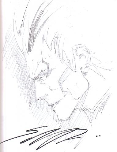 Tyrell (Superman: Earth One) by Shane Davis (Midtown Comics Signing Event)