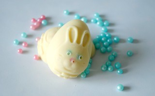 Hand- made Bunny head chocolate Easter eggs