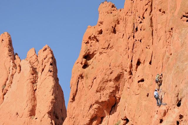 Climbing Couple At Garden Of The Gods Flickr Photo