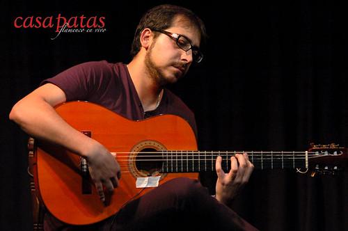 Manuel Cazás. guitarrista. Foto: Martín Guerrero