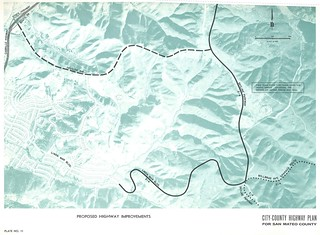 Proposed Highway Improvements (Pacifica, 1962)
