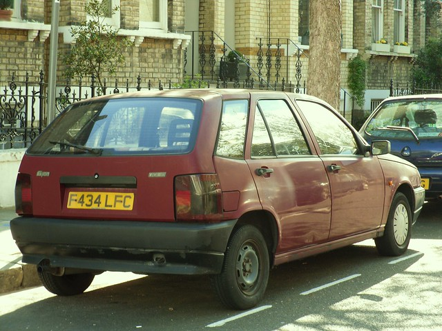 1989 fiat tipo 1 7 diesel hatchback an unusually elderly flickr photo sharing. Black Bedroom Furniture Sets. Home Design Ideas