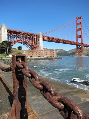 San Francisco, Golden Gate Bridge, Fort Point IMG_5607