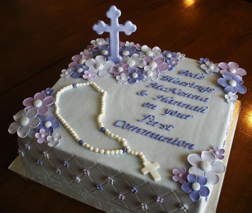 1st Communion Cake Ideas 4965   First Communion Cake A Photo