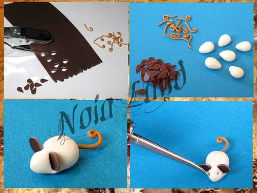 Tutorial: ratones de chocolate en minatura