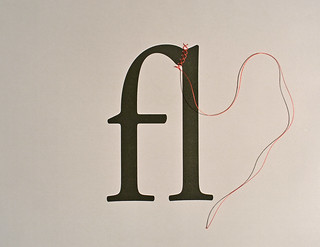 How to Create a Ligature: String