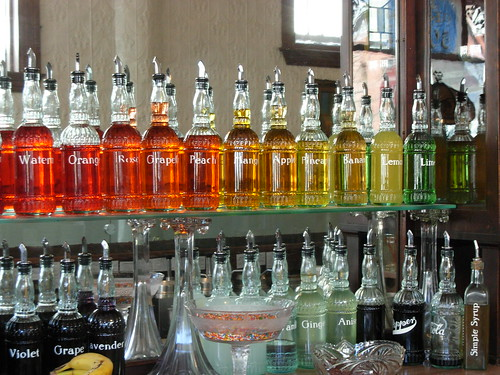 Franklin Fountain Rainbow of Syrups