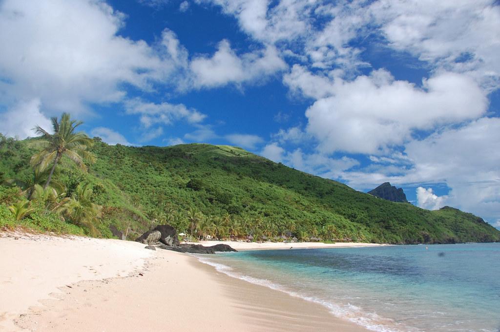 пляж ясава фиджи