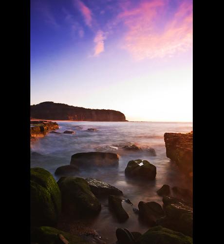 longexposure seascape sunrise rocks turimetta