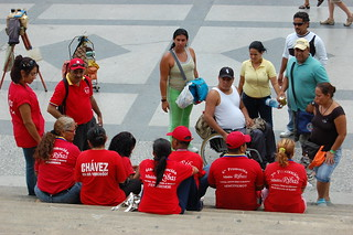 Red visitors, Havana