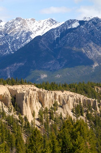 mountains forest britishcolumbia fairmont hoodoos