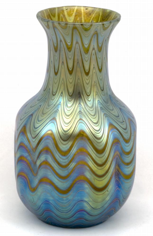 Signed Candia Phenomen 6893 Loetz Vase Ebay