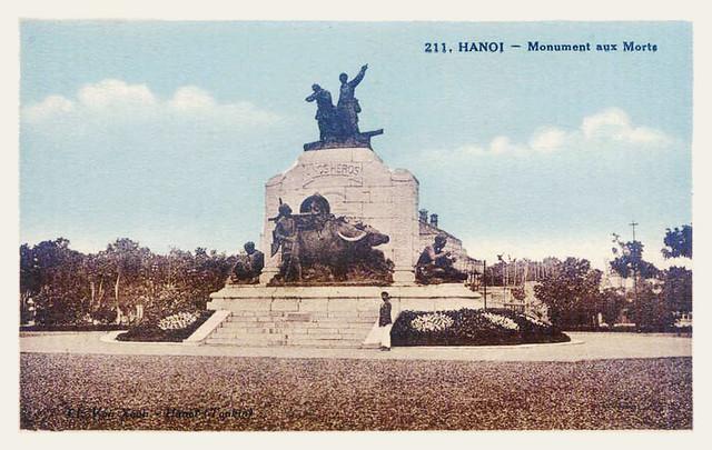 HANOI - MONUMENT AUX MORTS - Vườn hoa Canh nông