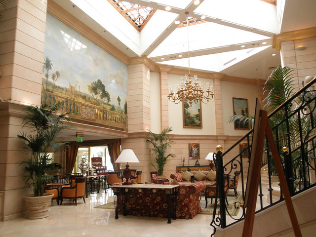 A review of every marriott in jordan for A to z salon amman
