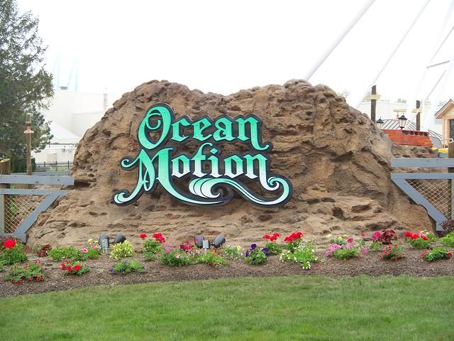 Cedar Point - New Ocean Motion Sign