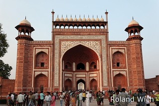 Agra - Taj Mahal South Gate