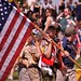 150/365: Monday, May 30, 2011: Boy Scout with American Flag at Memorial Day Observance at Warrenton Cemetery