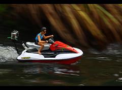 Steve's latest GoPro toy - Jet Ski