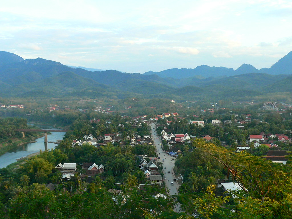 Luang Prabang - Mount Phousi