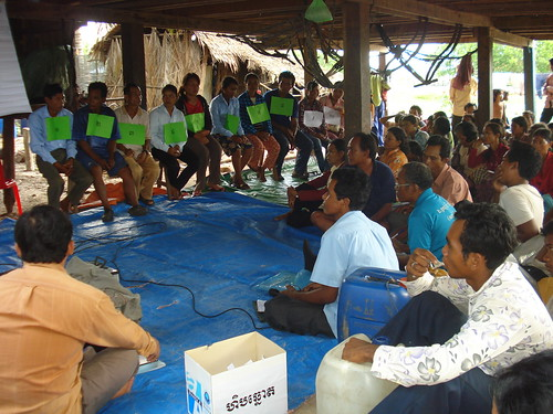 15 Villagers elect a committee to manage a community-protected environment area