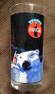 Coca-Cola Polar Bear Promotional Glass