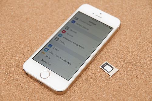 iPhone 5s au sim
