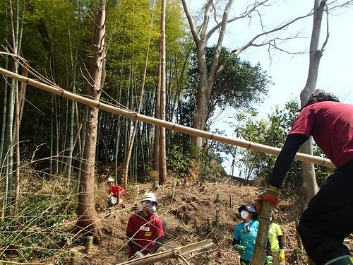 南相馬・小高でボランティア(援人 2014年 0425便)