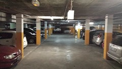 garage, vehicle, transport, property, car park, parking,