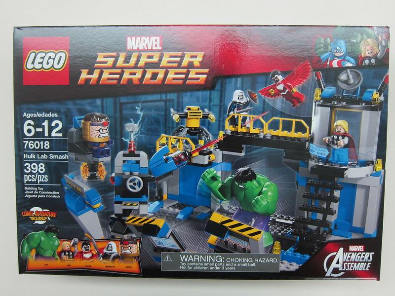 LEGO - 76018 - Super Heroes - Hulk Lab Smash