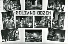 postcard - bolzano - vedutine notturni