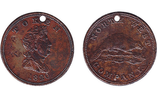 1820 North West Company token