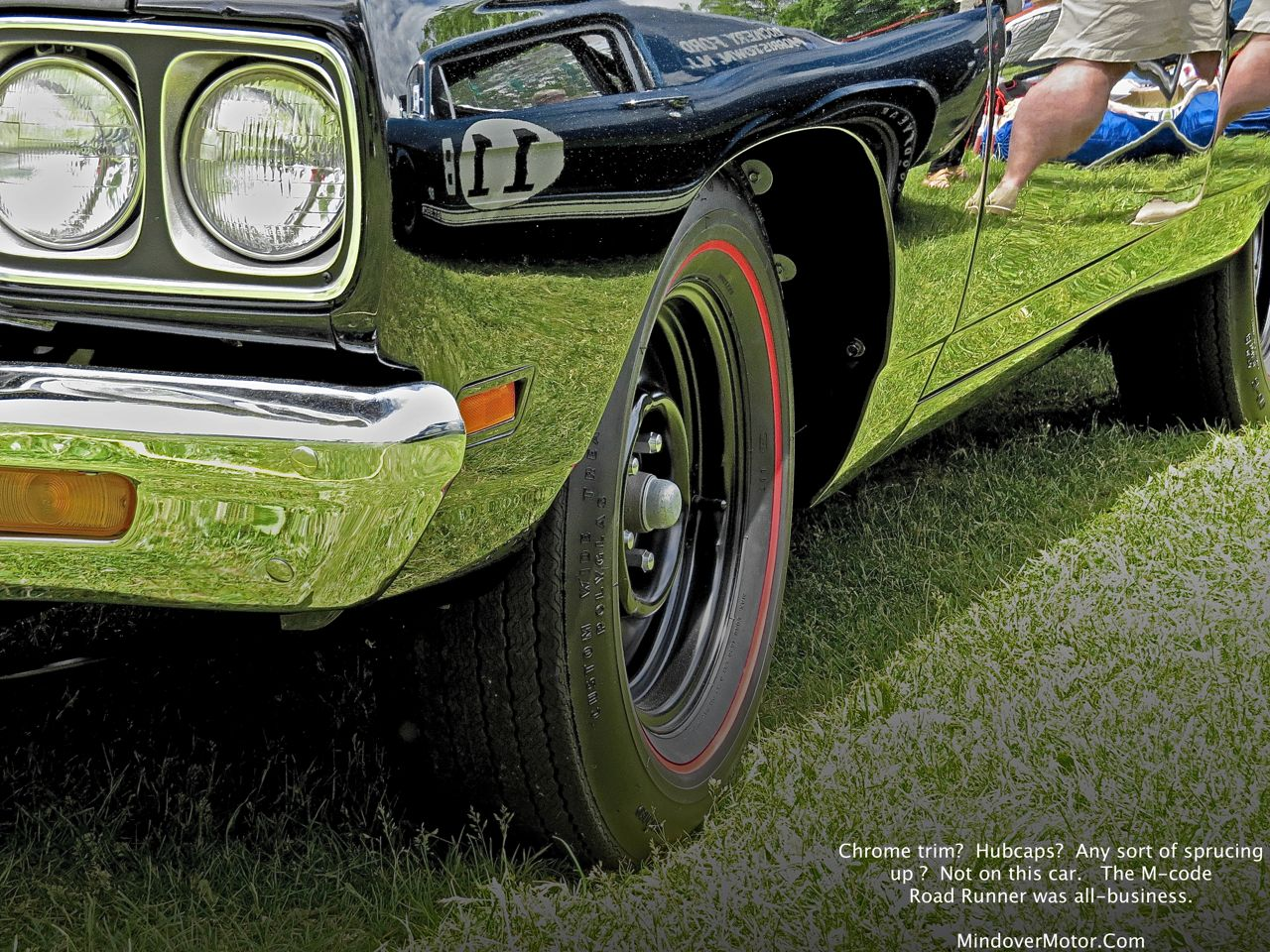 1969 Plymouth Road Runner 440+6 Front Wheel