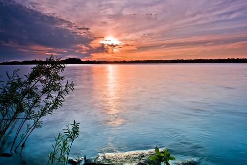 longexposure pink blue light sunset sky orange sun newyork beach nature water beautiful clouds reflections landscape evening cool interesting nikon warm purple scenic peaceful bluesky rochester 1855mm darkblue waterscape bluetone beachscape d3000