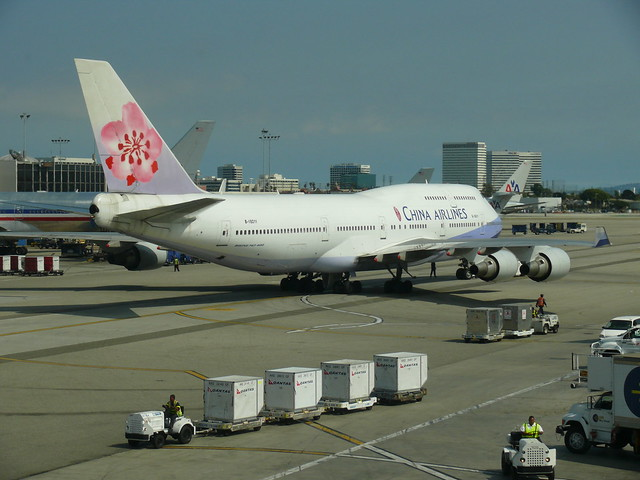 China Airlines: Boeing 747-409
