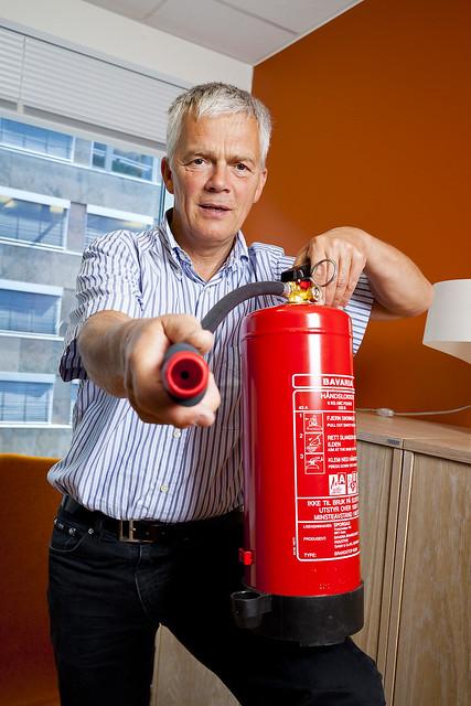 Fred Nilsen, fagsjef skadeforebygging i SpareBank 1 Forsikring