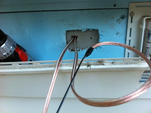 Running Speaker Wire : Deck speaker install the house of husar