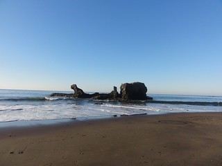 Изображение на Playa El Tunco близо до La Libertad.