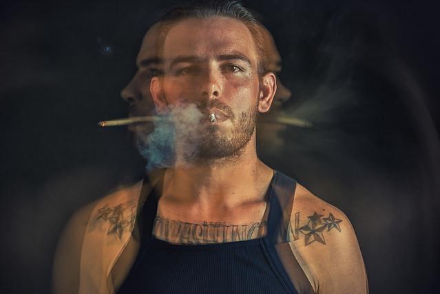 Josh. Smoking 01