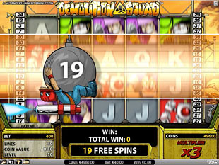 Demolition Squad - Play Online Slots for Free