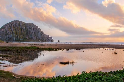 "sunset people plant reflection ice beach rock strand golden evening bay pond sand shadows time soe morro platinumheartaward thechallengefactory ""flickraward5"" ""flickrawardgallery"" mpe2012 pinjun16"