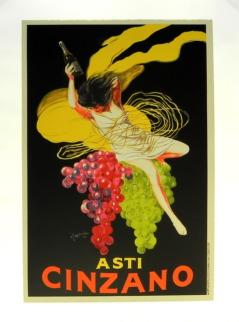 Quot asti cinzano vintage french advertising poster at smith